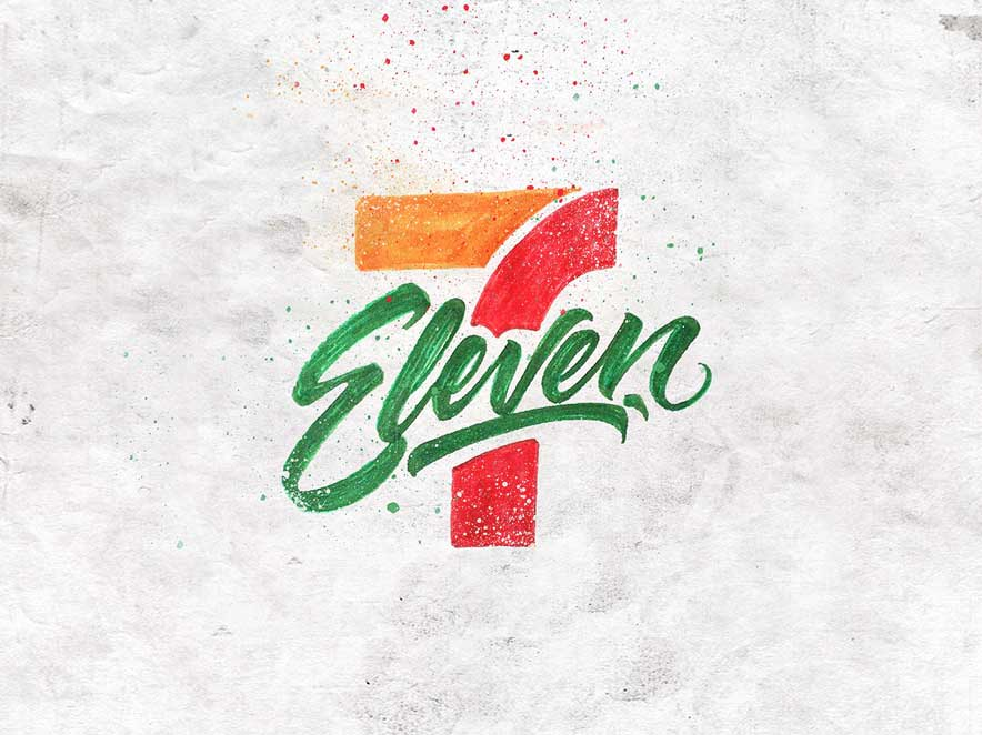 Brand Logos Turned Into Beautiful Calligraphic Art