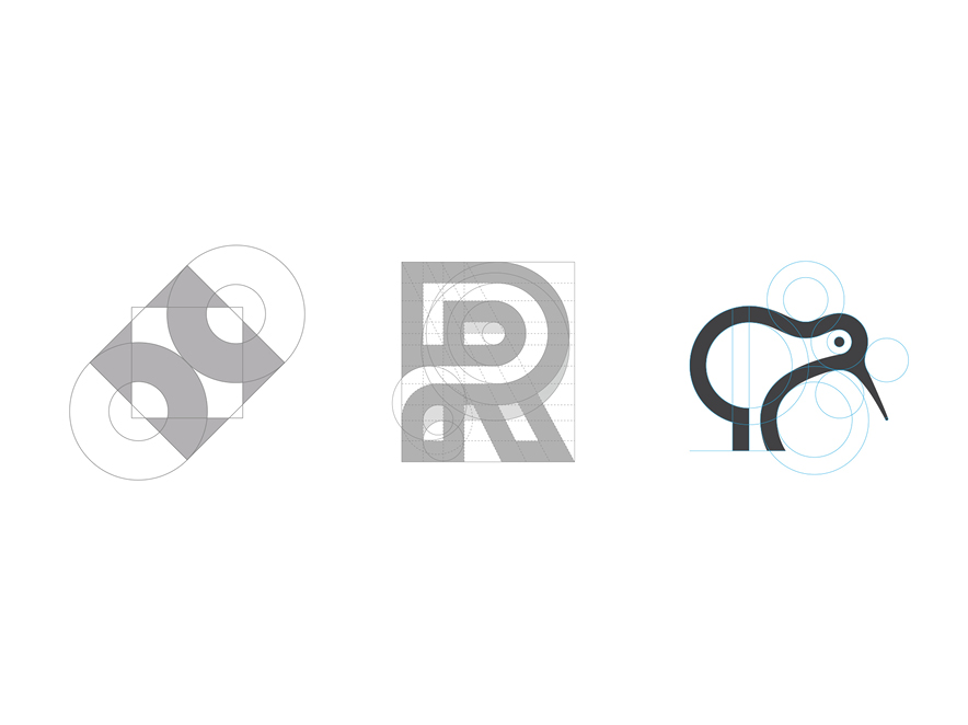 logo grid collection by george bokhua logoinspiration net