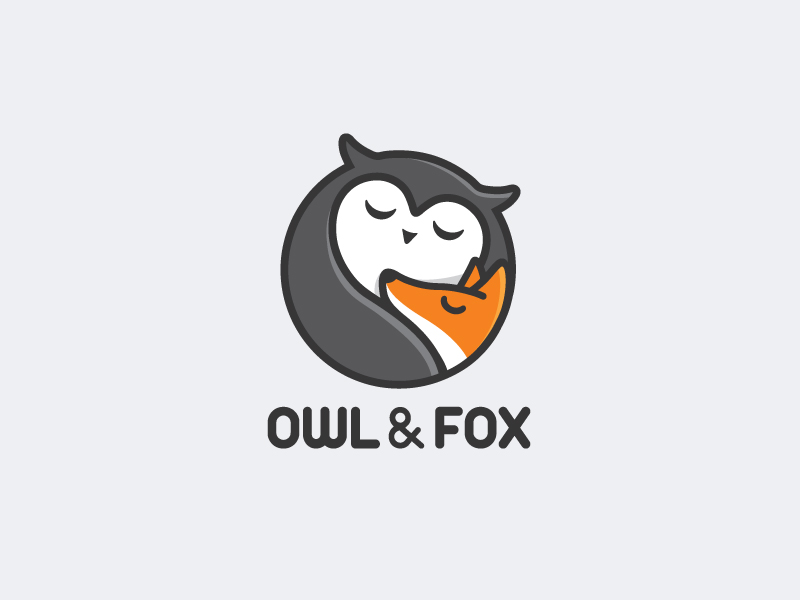 owl fox logo