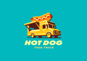 hot dog truck logo
