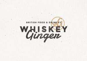 vintage whiskey logo