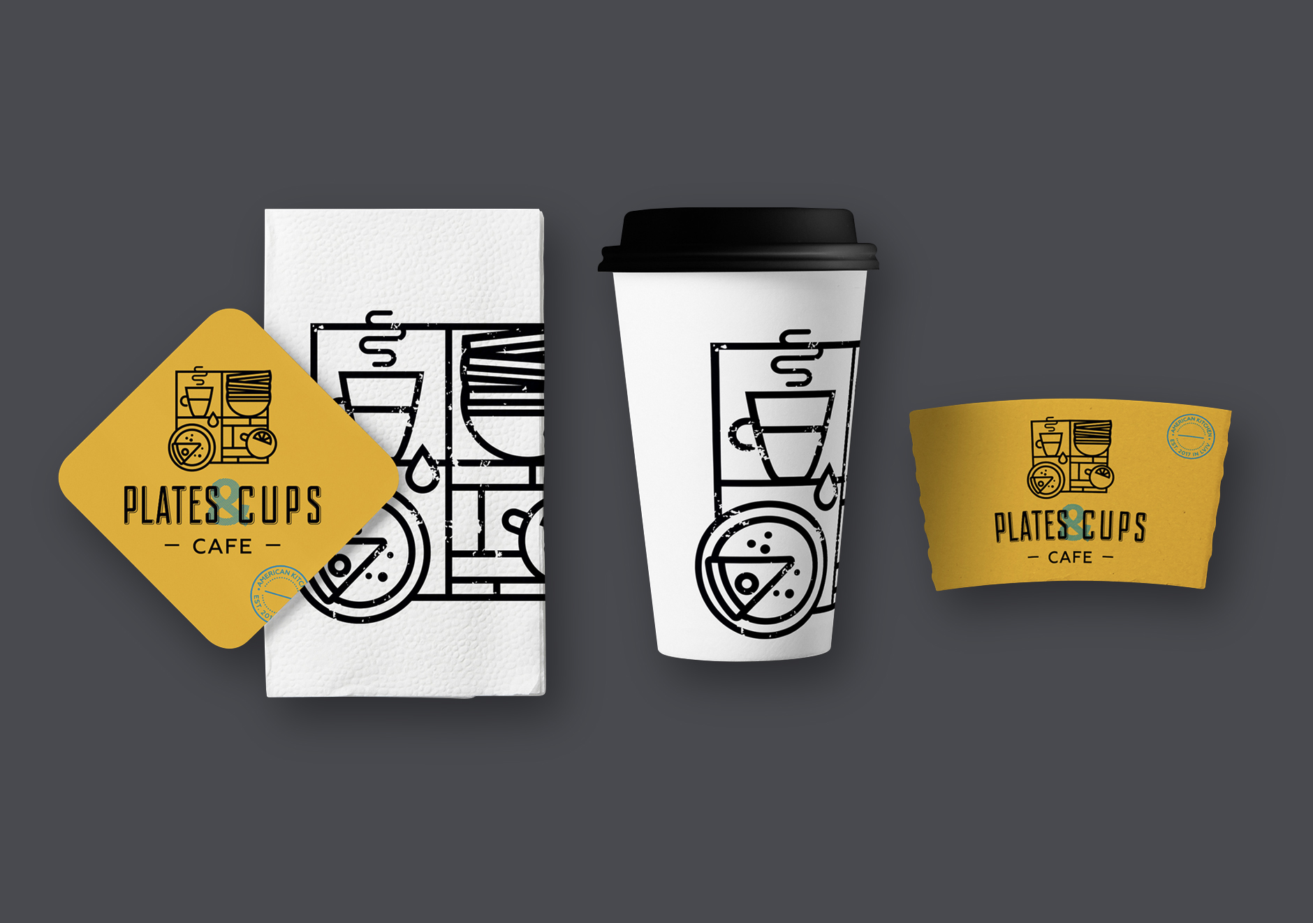 plates and cups cafe