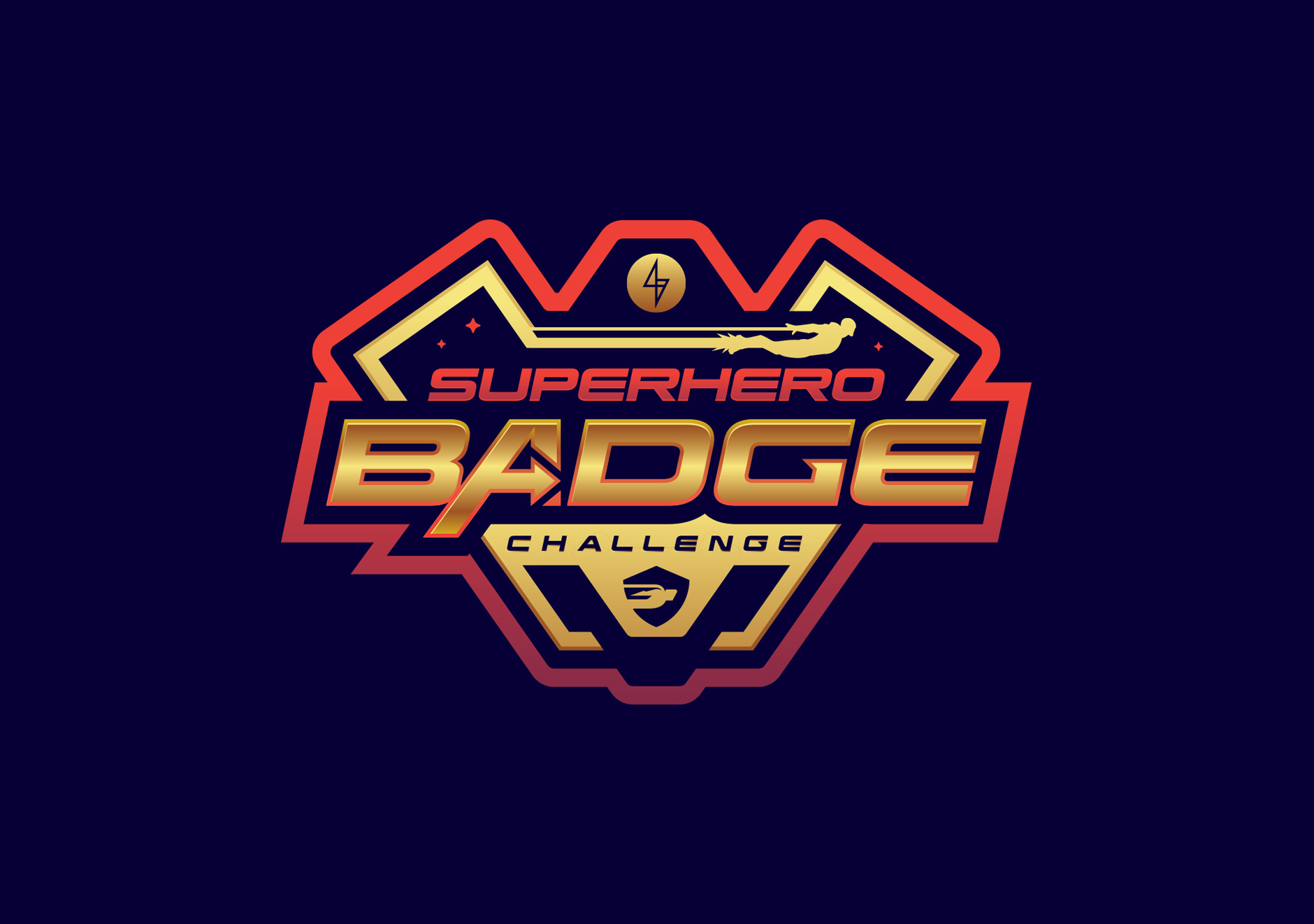 superhero badge challenge
