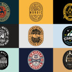 45 Excellent Oval Badge Logo Designs